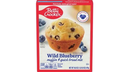 Betty Crocker™ Wild Blueberry Box Muffin Mixes - Front