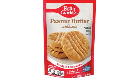 Betty Crocker™ Snack Size Peanut Butter Cookie Mix - Front
