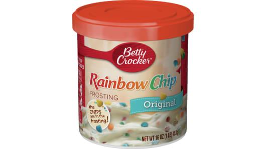 Betty Crocker™ Rainbow Chip Rich & Creamy Frosting - Front