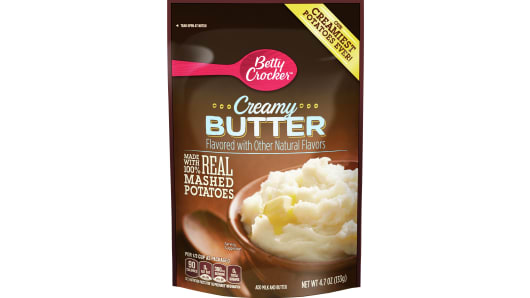 Betty Crocker Creamy Butter Mashed Potatoes - Front