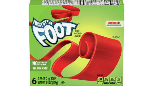 Fruit by the Foot™ Strawberry - Front
