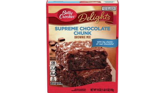 Betty Crocker™ Supreme Chocolate Chunk Brownie Mix - Front