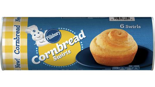 Pillsbury™ Cornbread Swirls - Front