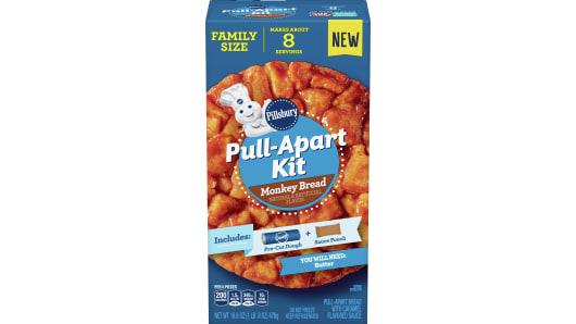 Pillsbury™ Monkey Bread Pull-Apart Kit - Front