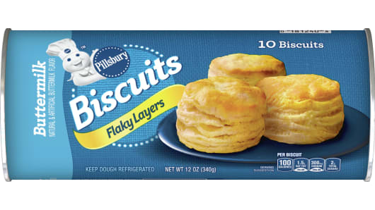 Pillsbury™ Flaky Layers Buttermilk Biscuits 10 ct - Front