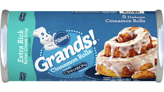 Pillsbury™ Grands!™ Cinnamon Rolls with Extra Rich Butter Cream Icing - Front