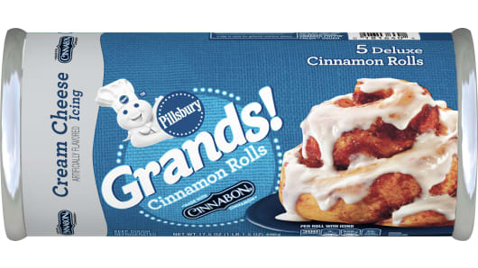 Pillsbury™ Grands!™ Cinnamon Rolls with Cream Cheese Icing - Front