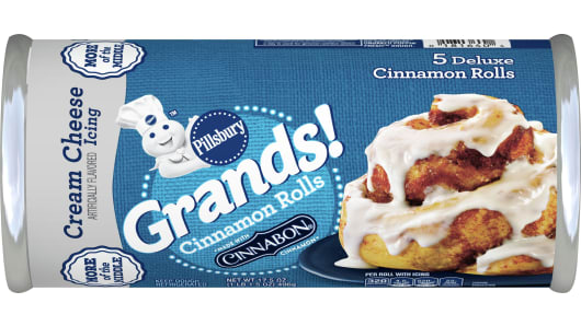 Pillsbury™ Grands!™ Cinnamon Rolls with Cinnabon Cream Cheese Icing - Front