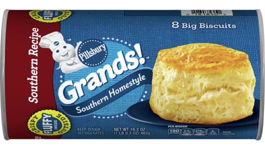 Grands!™ Southern Homestyle Southern Recipe Biscuits - Front