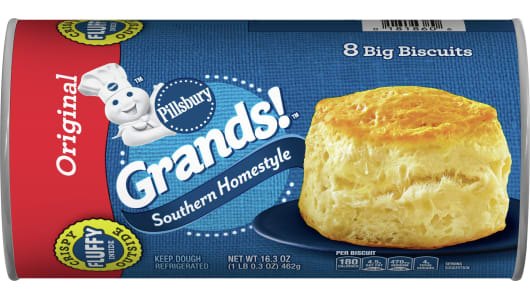 Grands!™ Southern Homestyle Original Biscuits - Front