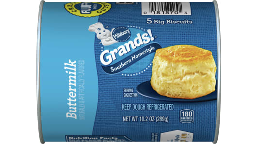 Grands!™ Southern Homestyle Buttermilk Biscuits 5 ct - Front