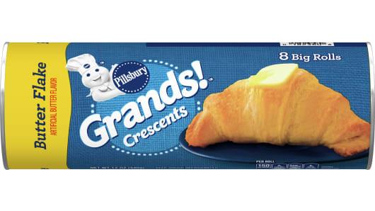 Pillsbury™ Big & Buttery Crescent Rolls - Front