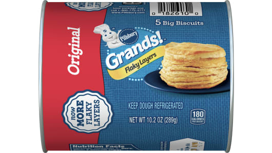 Grands!™ Flaky Layers Original Biscuits 5 ct - Front