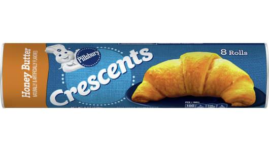 Pillsbury™ Honey Butter Crescent Rolls - Front