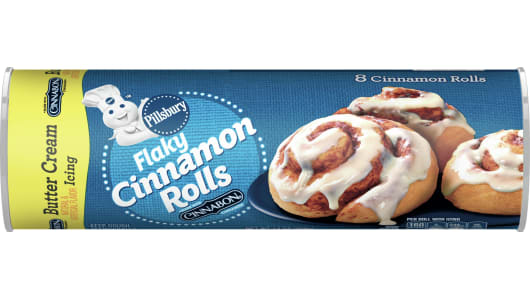 Pillsbury™ Flaky Cinnamon Rolls with Butter Cream Icing - Front