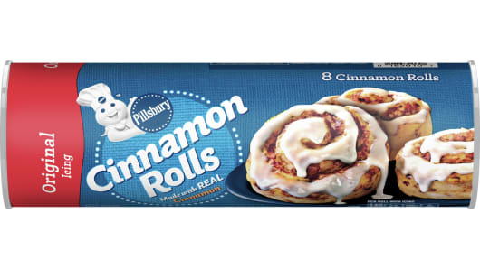 Pillsbury™ Cinnamon Rolls with Original Icing (8 count) - Front