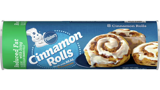 Pillsbury™ Reduced Fat Cinnamon Rolls with Icing - Front
