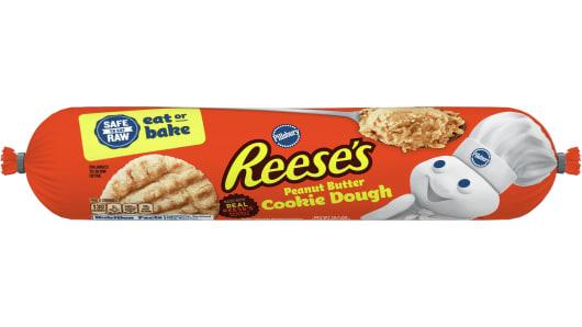 Pillsbury™ Peanut Butter Refrigerated Cookie Dough - Front