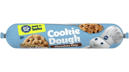 Pillsbury™ Chocolate Chip Refrigerated Cookie Dough - Front