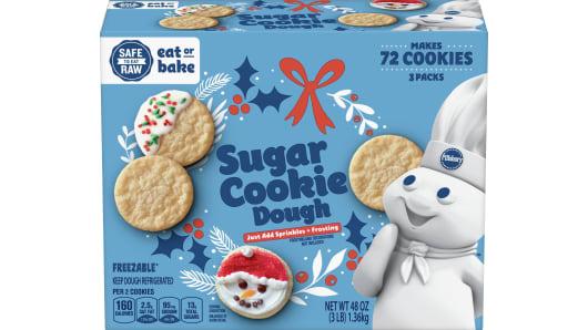 Pillsbury™ Ready to Bake!™ Sugar Cookie Dough 72ct - Front