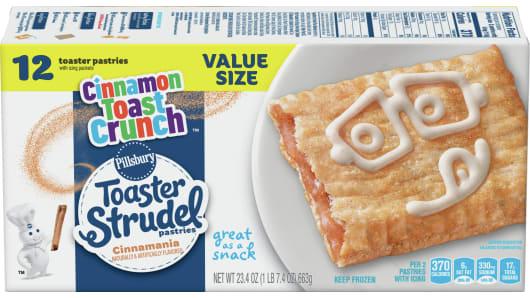 Pillsbury™ Cinnamon Toast Crunch Toaster Strudel™ 12 Ct. - Front