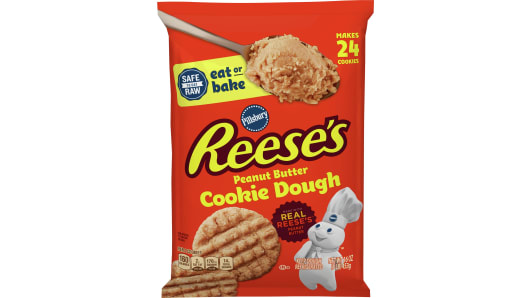Pillsbury™ Ready to Bake! REESE'S Peanut Butter Cookie Dough - Front