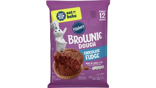 Pillsbury™ Chocolate Fudge Brownie Dough - Front