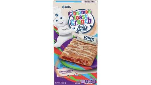 Pillsbury™ Cinnamon Toast Crunch Toaster Strudel™ - Front