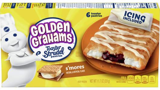 Pillsbury™ Golden Grahams Toaster Strudel™ Pastries - Front