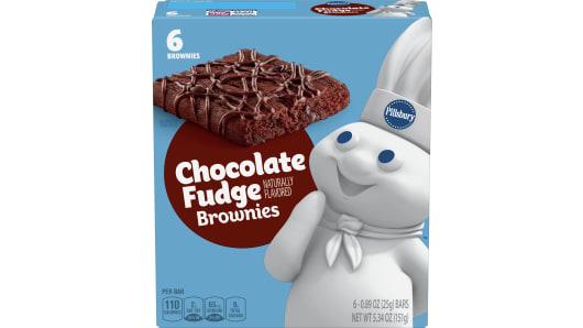 Pillsbury™ Chocolate Fudge Brownie - Front