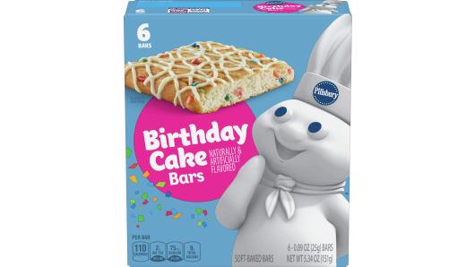 Pillsbury™ Birthday Cake Bar - Front