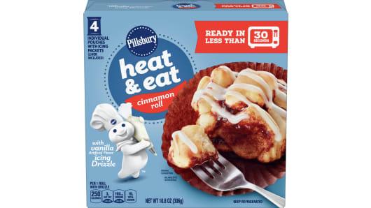 Pillsbury™ Heat & Eat Cinnamon Roll - Front