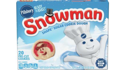 Pillsbury™ Shape™ Snowman Sugar Cookie Dough - Front