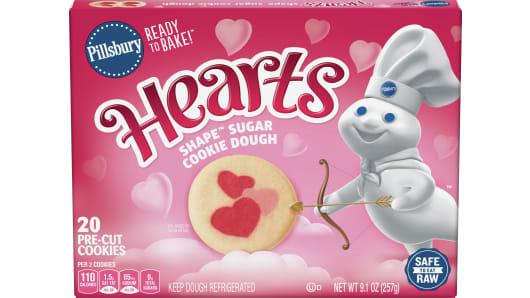 Pillsbury Shape Hearts Sugar Cookie Dough Pillsbury Com