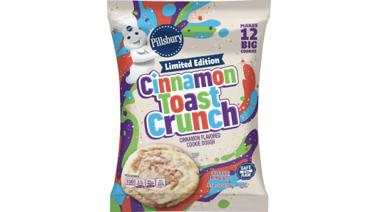 Pillsbury™ Ready to Bake! Cinnamon Toast Crunch Cookie Dough 12 Count - Front
