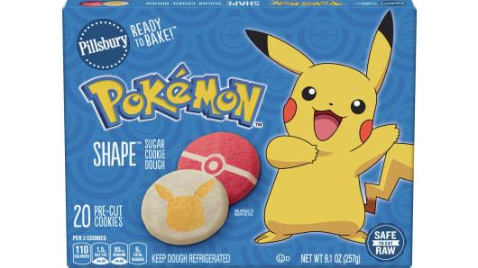 Pillsbury™ Shape™ Pokémon™ Sugar Cookie Dough - Front