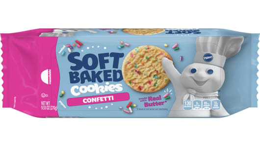 Pillsbury™ Soft Baked Confetti Cookies - Front