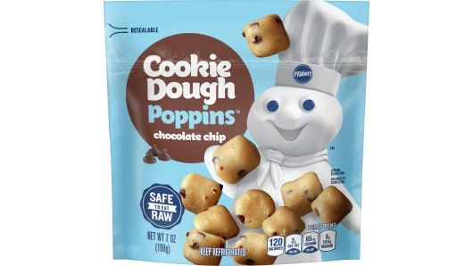 Pillsbury™ Chocolate Chip Cookie Dough Poppins - Front