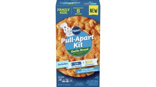 Pillsbury™ Garlic Bread Pull-Apart Kit - Front