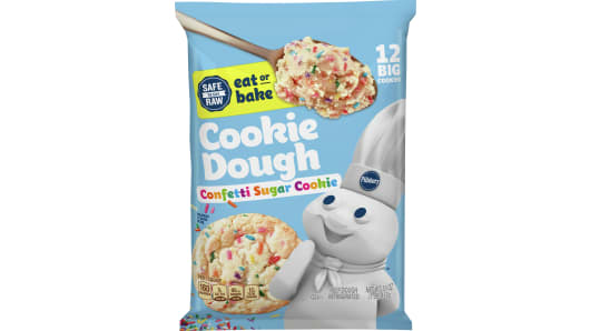 Pillsbury™ Ready to Bake!™ Confetti Cookie Dough - Front