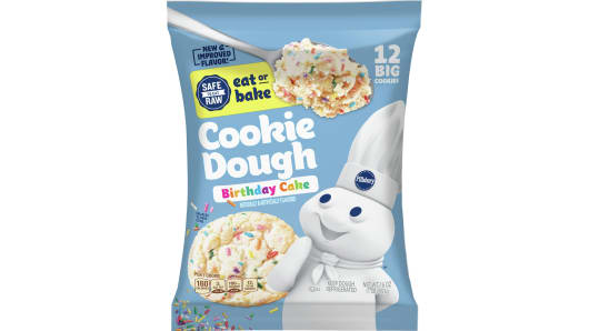 Pillsbury™ Ready to Bake!™ Birthday Cake Cookie Dough - Front