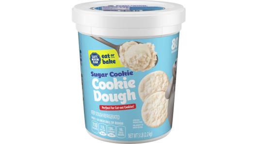 Pillsbury™ Sugar Cookie Dough Tub 80ct - Front