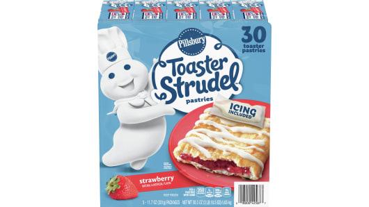 Pillsbury™ Strawberry Toaster Strudel™ 30 Ct. - Front