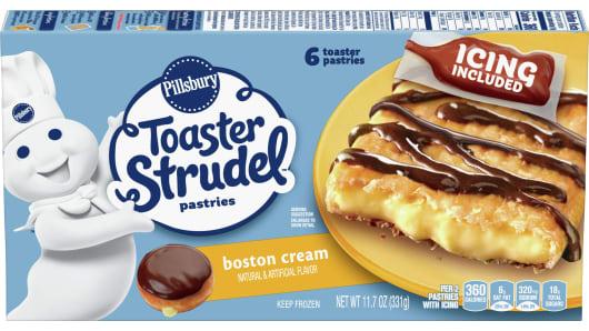 Pillsbury™ Boston Cream Pie Toaster Strudel™ - Front