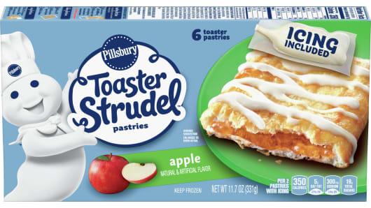 Pillsbury™ Apple Toaster Strudel™ - Front