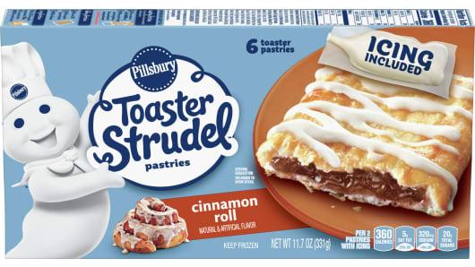 Pillsbury™ Cinnamon Roll Toaster Strudel™ - Front