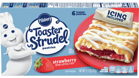 Pillsbury™ Strawberry Toaster Strudel™ - Front