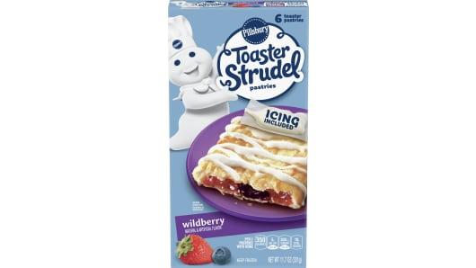 Pillsbury™ Wildberry Toaster Strudel™ - Front