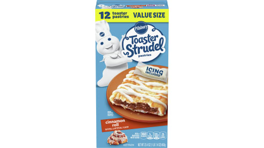 Pillsbury™ Cinnamon Roll Toaster Strudel™ 12 Ct. - Front