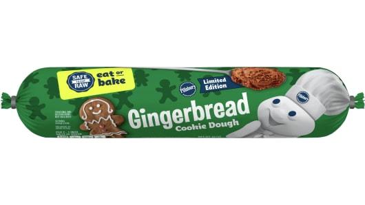 Pillsbury™ Gingerbread Cookie Dough - Front